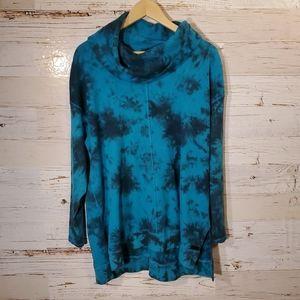 Calvin Klein tye-dye long sleeve top